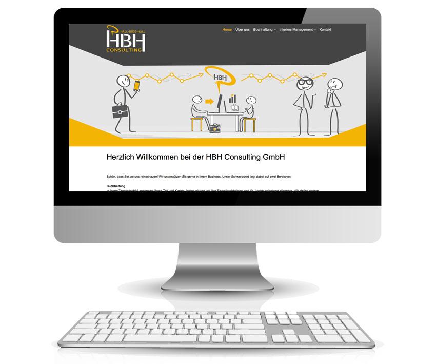 Webdesign mit CMS-System, Webseite erstellen